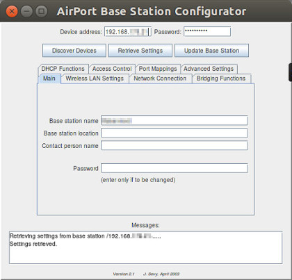 AirPort Base Station Update 2007-002 for Windows